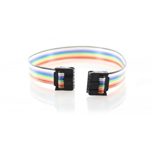 2x5 10-PIN Ribbon Cable for ZigBee/JTAG Programmers