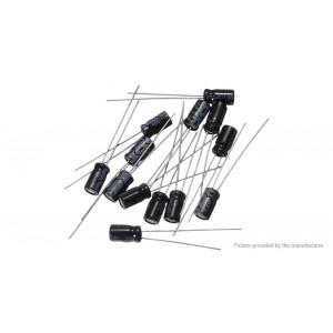 0.1uF-330uF Aluminum Electrolytic Capacitors Value-Pack (215 Pieces)