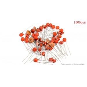 1PF-0.1UF Ceramic Electrolytic Capacitors 50 Value (1000 Pieces)