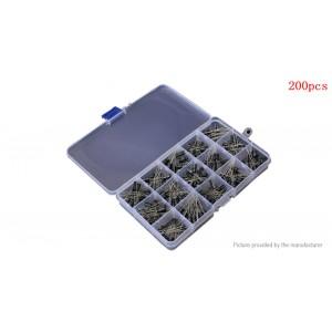 0.1uF-220uF Aluminum Electrolytic Capacitors Value-Pack (200-piece)