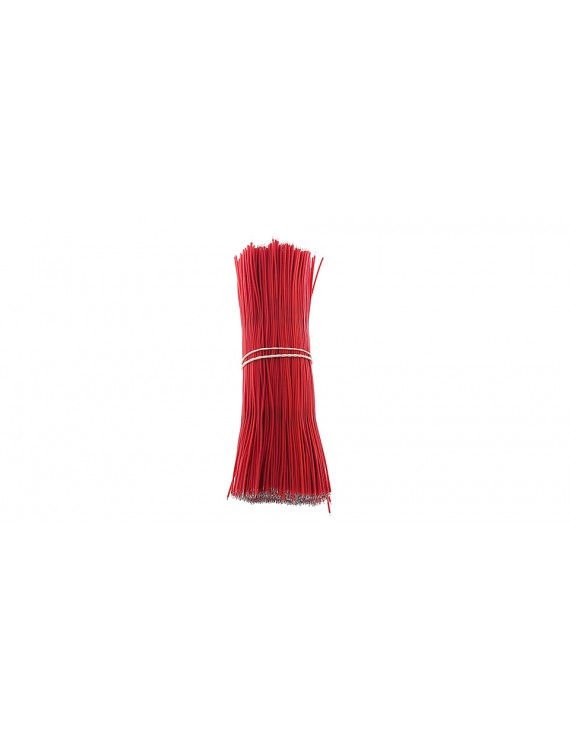 150mm 1007# 28 AWG Lead Wires (1000-Pack) - 150mm, Red: 1000-Pack