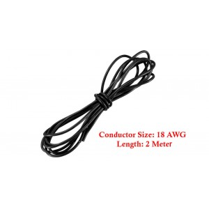 18AWG Soft Flexible Silicone Wire Cable (200cm)