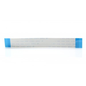 24-pin 0.5mm FFC Flexible Flat Cable - Type-A (2-Pack)